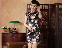 Wholesale China s silk dress Heavy launch Elegant style
