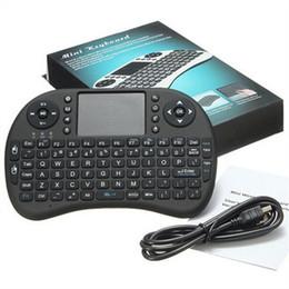 Rii I8 Fly Air Mouse Mini Wireless Handheld клавиатура 2,4 Сенсорная панель Пульт дистанционного управления для M8S MXQ MXIII Android TV BOX Mini PC