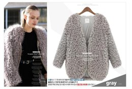 Wholesale Womens New Winter Lamb And Wool cardigans Coats Explosion Cashmere Sweaters Women s Winter Clothes Mohair Clothes Cardigan Sweaters S12