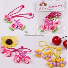 Wholesale Girls Barrettes Children Hair Accessories Kids Korean Flower Clip Baby Hair Accessories Hair Tie Girl Hair Clips Childrens Accessories C1754