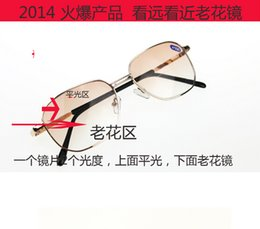 Wholesale High Quality Resin glasses Presbyopic glasses for Elders With different Degrees Double optical presbyopic glasses Elder presbyopic glasses