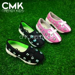 Wholesale CMK KS101 New Designer Kids Breathable Mesh Fabric Shoes Kids Floral Sneaker Girls Boys Casuel Shoes Leisure Sequence Sneakers