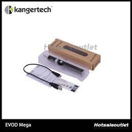 online shopping Kanger Evod Mega Kits mah Evod Battery And EMOW Mega Clearomizer New Dual Coil With ml Kangertech EVOD Mega Dual Coils Atomizerl