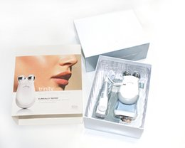 Wholesale Small Package Nuface Trinity Pro Facial Toning Device Kit White top quality Brand New Sealed