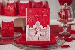 Wholesale Wedding invitation card Invitation card Customised and printing BB021 Set of