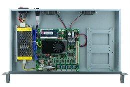 Enchufe del átomo de Intel d2550, dispositivo del cortafuego 1U250C_M2F 4G RAM 60GB SSD