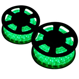 Discount led decorative light rope Wholesale 2x50ft Green LED Rope Light  Home Outdoor Christmas DecorativeDiscount Led Decorative Light Rope 2017 Led   Green Led Rope Lights Sale  Onebigoutlet LED Rope Light 2 Wire  . Green Led Rope Lighting. Home Design Ideas