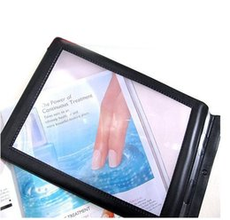 Wholesale New A4 Full Page Large Sheet Magnifier Magnifying Glass Reading Aid Lens Fresnel