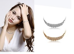 Wholesale Promotion price only beautiful romance with drill MaBian necklace bracelet zircon earrings three dresses crystal necklace suits