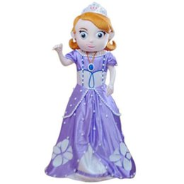 Wholesale Fancytrader Top Sale Real Picture Sofia Mascot Costume Fancy Dress Party Prop
