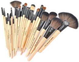 Wholesale Professional Makeup Brush Brush Set Wood Brushes sets Make Up Tools Portable Full Cosmetic Brush Tool Foundation Eyeshadow Lip brush