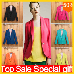 Wholesale 2014 blazer women suit blazer foldable brand jacket made of cotton spandex with lining Vogue refresh blazers