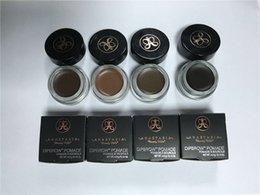 Wholesale 2016 Newest Anastasia Beverly Hills DIPBROW Pomade Medium Brown Waterproof Eyebrow g high quality from faststep DHL