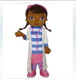Wholesale Dottie McStuffins Doc McStuffins Mascot Costume Adult Size Classic Party Costumes Fancy Dress Suit mi