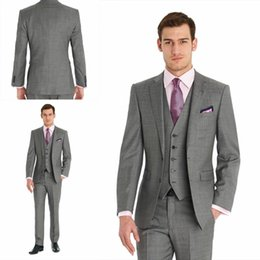 Discount Three Piece Light Grey Suit Designs | 2017 Three Piece ...