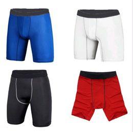 Wholesale 4PCS Mens Sport Compression Wear Under Base Layer GYM Shorts Pants Tights Leggings S M L XL XXL DH04