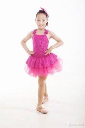 Wholesale professional ballet tutu Children s clothes and Latin dance costume dancing woman dancing clothes new ballet skirt dress princess dress