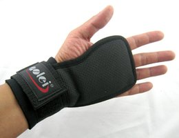 Wholesale Weight Lifting Training Fitness Gym Grips Straps Gloves Wrist Brace Wrist Exercise Training Protecting Glove