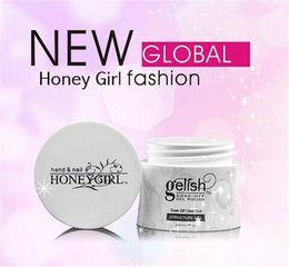 Honeygirl Gelish LED УФ-гель польский замочить с гелем строителя структуру ногтей гель Фонд Гель розовый Clear White Nail Art 30ml бутылку