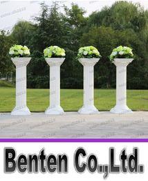 Wholesale New Style Disassemblability Plastic Column White Roman Column Decorative Wedding Columns Pillars LLFA4301F