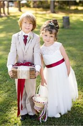 Wholesale Custom Suits Boy Tuxedos Boys Suits Boy s Kids Formal Occasion Wedding Party Tuxedos