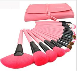 Wholesale 2015 Hot Professional Set Pink Makeup Brushes Makeup For You Brush Set Cosmetic Brushes Including a Deluxe Carrying Case