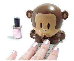 Wholesale Best price Monkey Dryer Blower Portable Blowing Nails Dryer Fingernail Dryer Nail Salons Stoving Implement