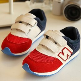 Wholesale 2 colors Fashion Brand Child Sport Shoes Casual Shoes Boys And Girls Sneakers Children s Running Shoes For Kids size
