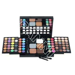 Wholesale 78 Color Cosmetic Makeup Sets Eyeshadow Palette Professional Makeup Kits Chrome Oxide Greens Discount Makeup Kits