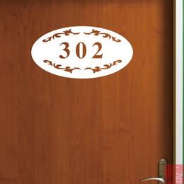 Discount Door Number Stickers | 2017 Door Number Stickers on Sale ...