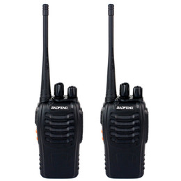 2 Piece BAOFENG BF-888S Walkie Talkie UHF 400-470MHz 5W 16 canaux VOX lampe de poche Scan Monitor Voice Prompt simple bande deux voies radio A7154A