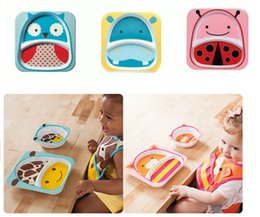 Wholesale Baby animal melamine tableware a variety of animal shapes children s cartoon tableware tableware