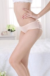 Wholesale 2014 new arrival healthy comfort fashion beige lace tranparent hollow sexy underwear princess sexy lingerie panties women