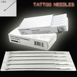 Wholesale RS Tattoo Needles Sterilized Disposable Tattoo Gun Needles Tattoo Kits Supply