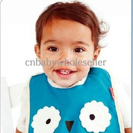 Wholesale New Design Animal Baby Bib Waterproof Material Kids Bib For Infant And Toddle BT40919