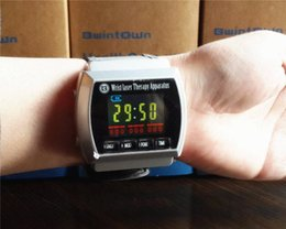 Wholesale Bwintown B320 semiconductor laser wrist watch type instrument blood pressure lowering fat sugar best auxiliary treatment New English