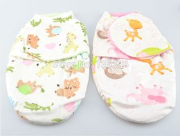 Wholesale newborn baby blankets swaddling spring autumn newborn baby sleeping bags envelope for newborns wraps