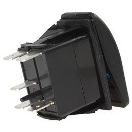 6pcs / lot 12V 20A impermeável vermelho luz LED Carling estilo de condução luz carro comutador interruptor CEC_918