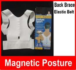 Wholesale Adjustable Magnetic Therapy Posture Support Corrector Correction Body Back Pain Lumbar Belt Shoulder Brace Shoulder support