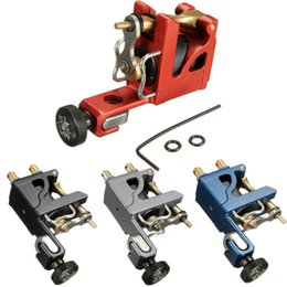 Wholesale New Professional Aluminium Alloy Motor Rotary Frame Tattoo Machine Gun Shader Liner Products For Body Sexy Beauty
