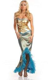 Wholesale RB1227 del envío libre popular caliente precio más barato atractivo adulto del traje de la sirena