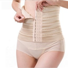Wholesale Women Wide Detox Stomach Wrap Shaper Slim Waist Tummy Girdle Belt Cincher Control Corset Waist Trainer Lose Weight Slimming Belt