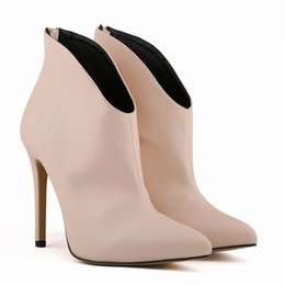 Discount Nude Heels Size 11  2017 Size 11 Nude High Heels on Sale