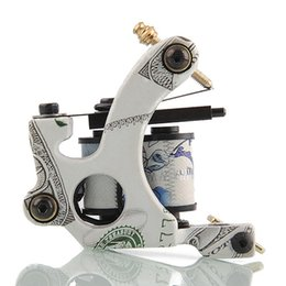 Wholesale Brand New Easy Use Wrap Coils Carbon Steel Entry Level Tattoo Machine Gun Set Supply Shader Body Art