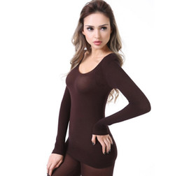 Cheap Thermal Ladies Underwear Suit | Free Shipping Thermal Ladies ...