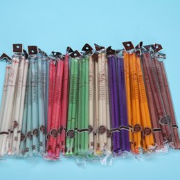 Wholesale 91pairs Indian Ear Candles With Earplug Fragrance Ear Candle Straight Type Color pair