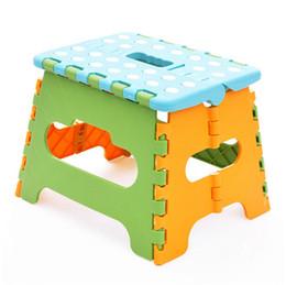 розницы оптовой продажи Новый Easy Складная Шаг стул / кресло вмещает до 200 фунтов для кемпинга рыбалки детей складные сиденья CYB28