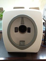 доставка бесплатно !!! Волшебное зеркало Системный анализ машина на лице анализатор кожи кожа сканер для домашнего использования