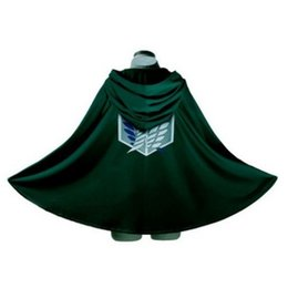 Wholesale Bingo Pop Attack on Titan Scouting Legion Top Cosplay Grade Cloak Cape