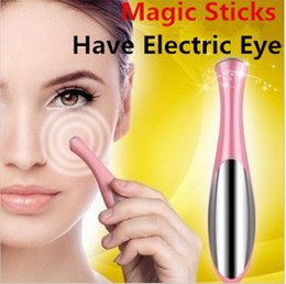 Wholesale Ion Eye massage device Vibration Eye Massager Pen For eye wrinkle eraser beauty equipment eye wrinkle eraser